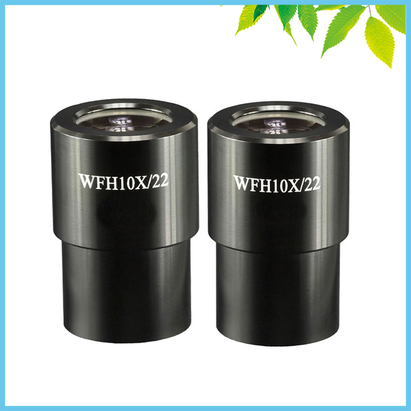 1 PC Stereo Microscope WFH10X Eyepiece 22mm Large Field of View Ultra High Eye Point Plan Wide Angle Field Eyepiece with Scale стоимость