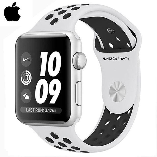fe7b9410d2d Série AppleWatch 3 Nike + GPS 8 gb 38mm Pulseira Inteligente Relógios de  Fitness Rastreador Sensor