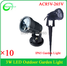 Modern Style Outdoor 3w garden light out door light IP65 3w lawn light led inground light(China)
