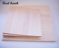 AAA+ Balsa Wood Sheet Balsa Plywood 500mmx300mmx2/3/4/5/6/8mm 5 pcs/lot super quality for airplane/boat DIY free shipping