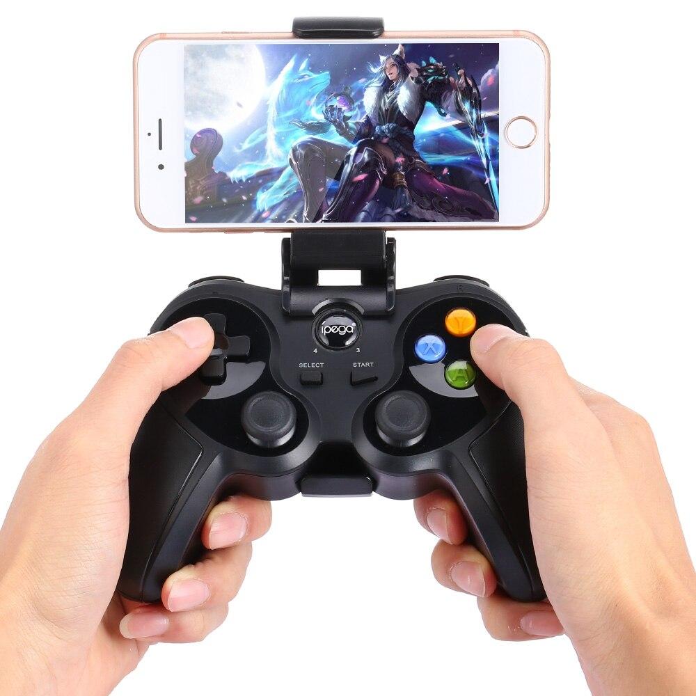 Neue iPega PG-9078 PG 9078 Drahtlose Bluetooth Joystick Gamepad Game Controller Eingestellt Halter für Android/iOS Tablet PC