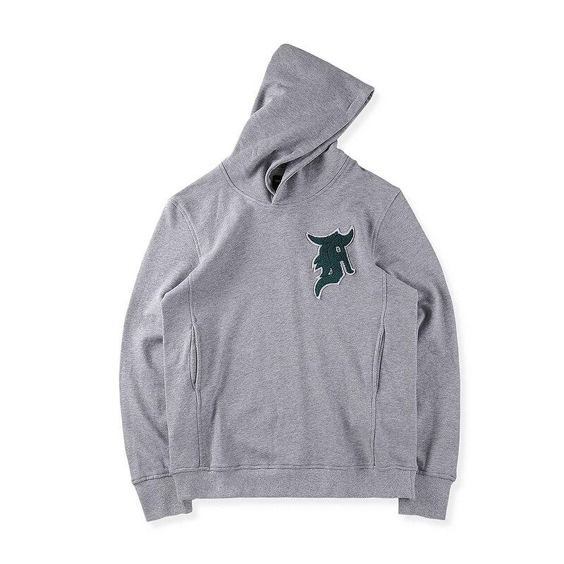 5ea1834d New hot best version JUSTIN BIEBER Big pocket embroidery unisex fog Hoodies  HIP HOP Fashion Casual Sweatshirts gray S XL-in Hoodies & Sweatshirts from  Men's ...