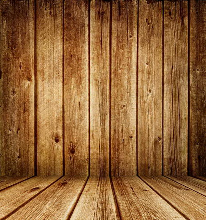 Customize all wooden wallpaper Vinyl photography background Backdrops Digital Printing