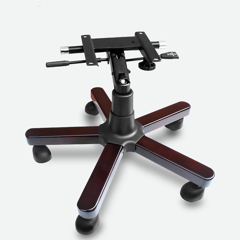 Chair Feet Solid Wood Five-star Foot Lift Computer Office Swivel Executive Chair Base Furniture Feet Accessories Gas Strut