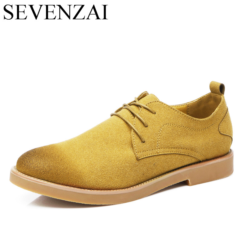 mens suede leather oxford shoes luxury brand 2017 platform elegant footwear male italian flats dress brogue oxford shoes for men 2017 fashion italian luxury dress mens shoes genuine leather black brown design flats for men business ol shoes brand oxford
