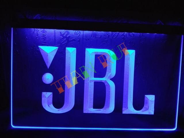 LG075  JBL Audio Car Display Bar LED Neon Light Sign Home Decor Shop Crafts