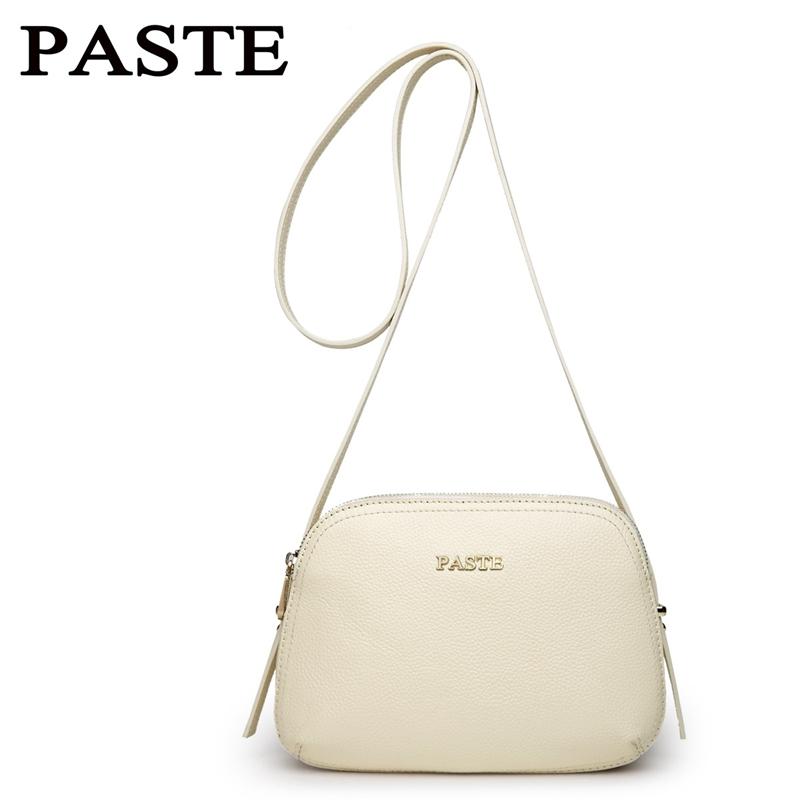 PASTE 2018 New Europe Style Fashion Vintage Women Genuine Leather Handbag Small Mini Bag Women Shoulder Bag Crossbody Clutch Bag new 2017 fashion brand genuine leather women handbag europe and america oil wax leather shoulder bag casual women