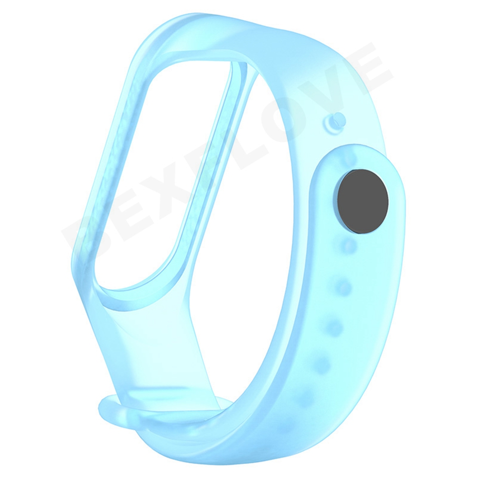 Clear Mi Band 4 3 Strap Wrist Strap For Xiaomi Mi Band 3 4 Bracelet Silicone Miband 3 4 NFC Accessories Smart Mi band4 Correa 3