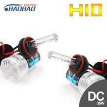 цена на BAOBAO Car HID Xenon Bulb 12V DC 2 Pcs 35W 4300K 6000K Direct Current Headlight H1 H3 H7 H11 9005 9006 Car Styling High Low Beam