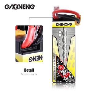Image 3 - Gaoneng GNB 6500mAh 4S 14.8V 100C/200C Hardcase LiPo סוללה XT90/XT60/דיקני תקע עבור 1:8 1/8 RC רכב ארבעה כונן מחוץ לכביש RC רכב