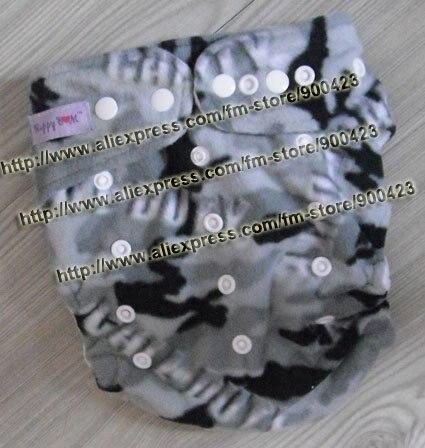 Моющиеся ребенка ткань пеленки 1 шт. ткань пеленки+ 1 шт. вставки - Цвет: army