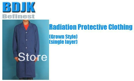 №Radiación ropa protectora con metal fibrosis conductor Telas una