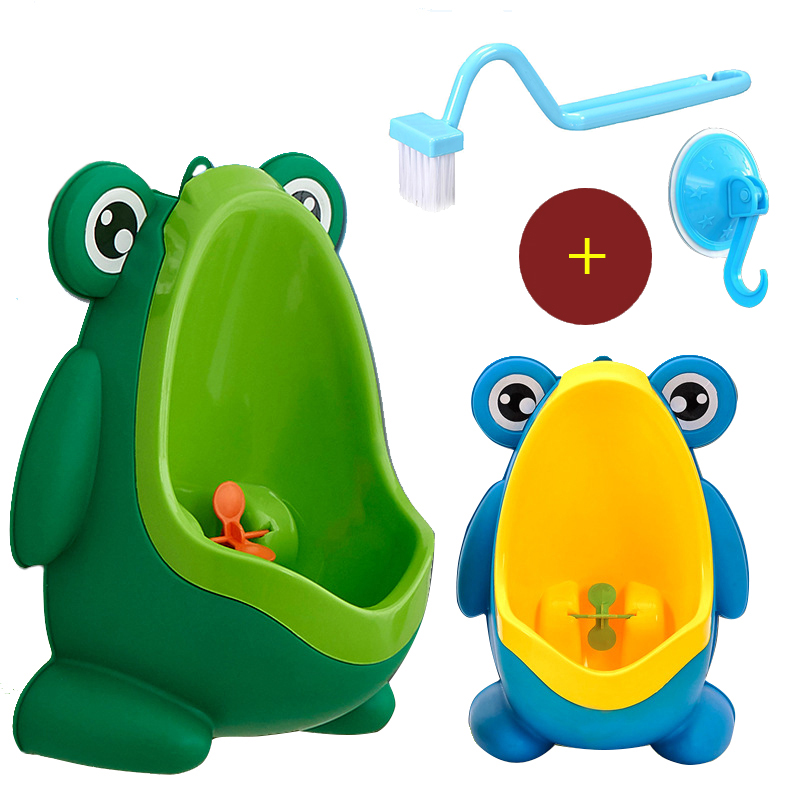 Kids Frog Potty Toilet Urinal Pee Trainer Wall Mounted Toilet Pee Trainer Penico Pinico Children font