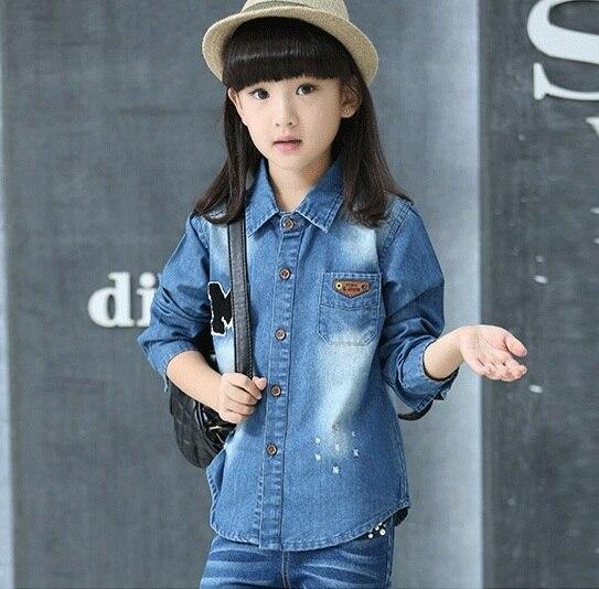 df5c082c4 Online Shop New autumn spring children s clothing shirts for girls ...