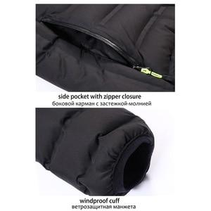 Image 5 - YIHUAHOO Winter Jacket Men Lightweight Windproof Casual Warm Park Jacket Winter Coat Cotton Padded Windbreaker Jacket Men JA1611