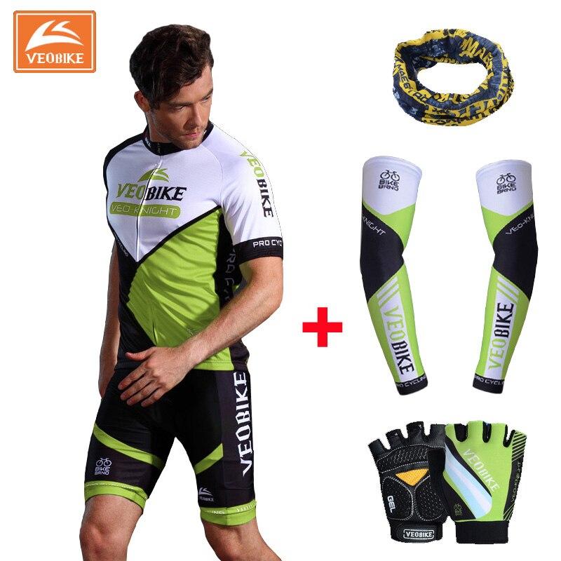 ФОТО VEOBIKE 2017 New Merida Team Green Men's Sport Bike Ciclismo Set Coolmax Jersey Cycling Clothing Short Sleeve Bike Shirt Wear