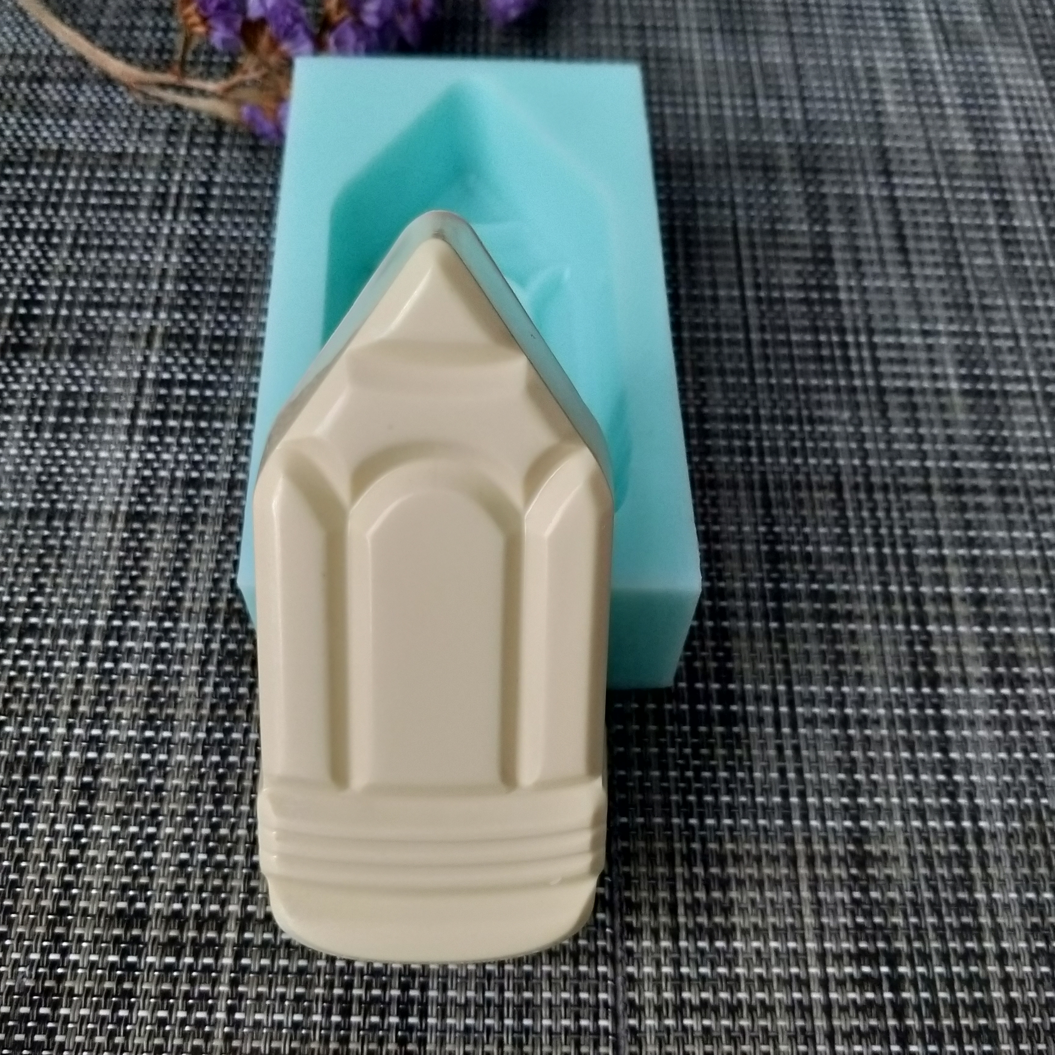 QT0147 PRZY pencil silicone mold soap mould handmade soap making molds candle silicone mold resin clay mold