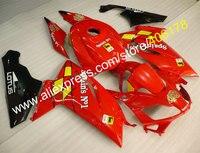 Hot Sprzedaży, Hiszpanii No1 RS 2006-2011 Aftermarket fairing Dla Aprilia RS RS125 Czerwony ABS Karoserię owiewki (formowanie Wtryskowe)