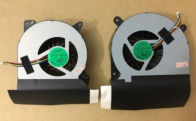 Новый ноутбук GPU + CPU Вентилятор Охлаждения Для Asus G750 G750J G750JH G750JM G750JW G750JX G750V P/N AB07512HX26DB00 AB08812HX26DB00