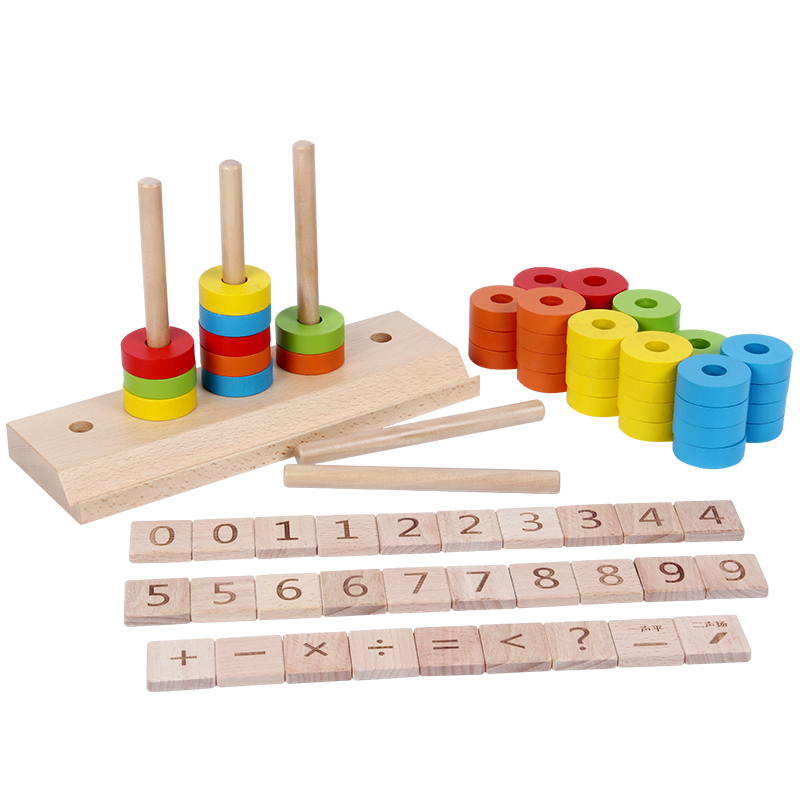 Baby Educational Toys Puzzle Cognitive Toys Sorting and Stacking Forms Wood Toy Early Childhood Education Game Toy 3-8 Years Old стоимость