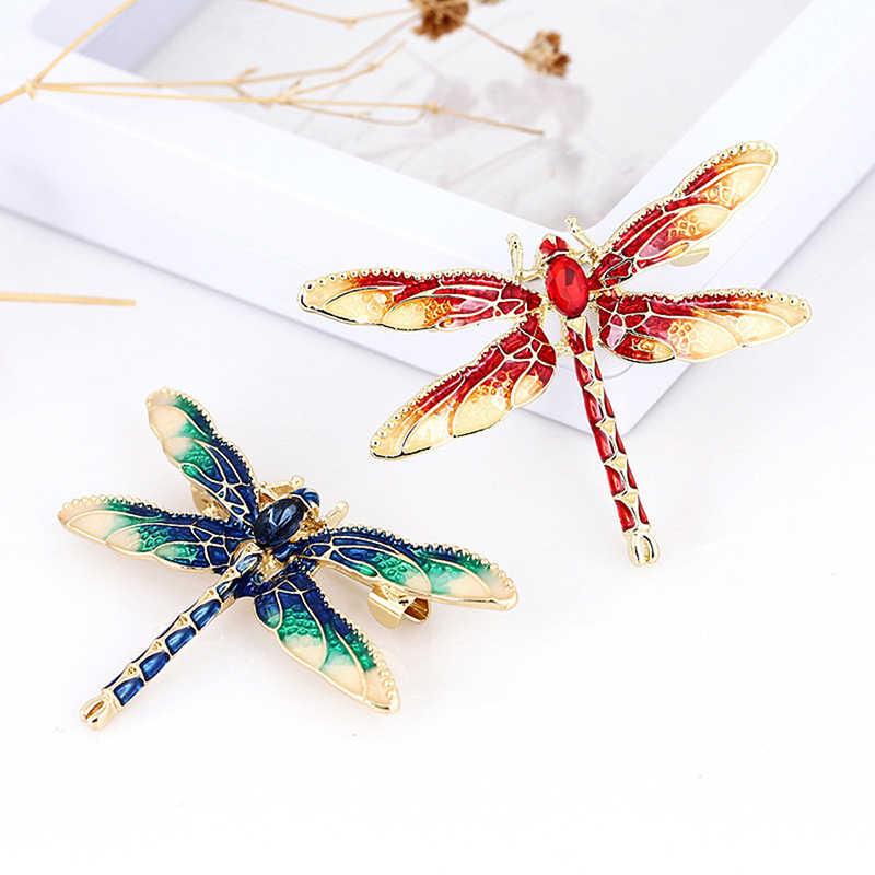 爆発レトロドリップオイル繊細な色の昆虫ブローチ動物昆虫針ブローチ Celicate アクセサリーファッションジュエリー