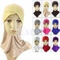 Бесплатная Доставка Мусульманин Хиджаб Исламский Underscarf Капот Шеи Полное Покрытие Внутренняя Головной Убор Hat Cap