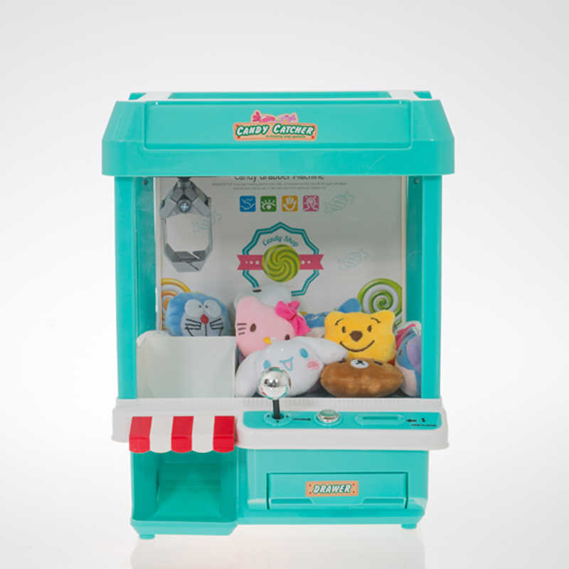 USB Charging Arcade Game Machine Candy Grabber Doll Grabber Claw Machine Crane Machine Catcher Vending Machine Clip Doll Grabber