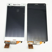 New OEM LCD Display Touch Screen Digitizer for Eppo Xperia Z3 mini Z3 Compact Black White