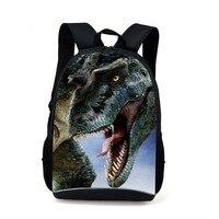 Yeni stil tasarım 600D/pvc Kumaş sırt çantası baskı dinozor 16 inç okul çantaları Erkek kız sırt çantası için toptancı ücretsiz kargo