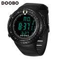 Doobo moda homens relógio à prova d' água led sports digital eletrônica militar dos homens relógios casuais relógios de pulso relogio masculino