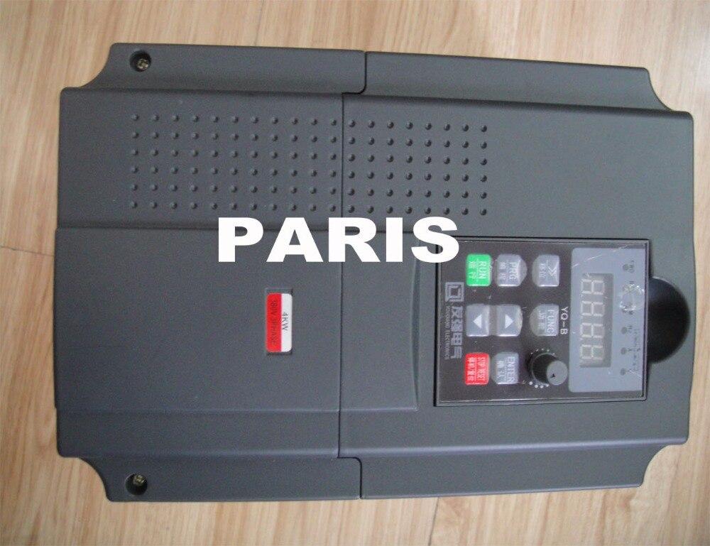 kit de husillo cnc husillo 4KW ER20 AC380V + inversor VFD 4K3 - Piezas para maquinas de carpinteria - foto 3