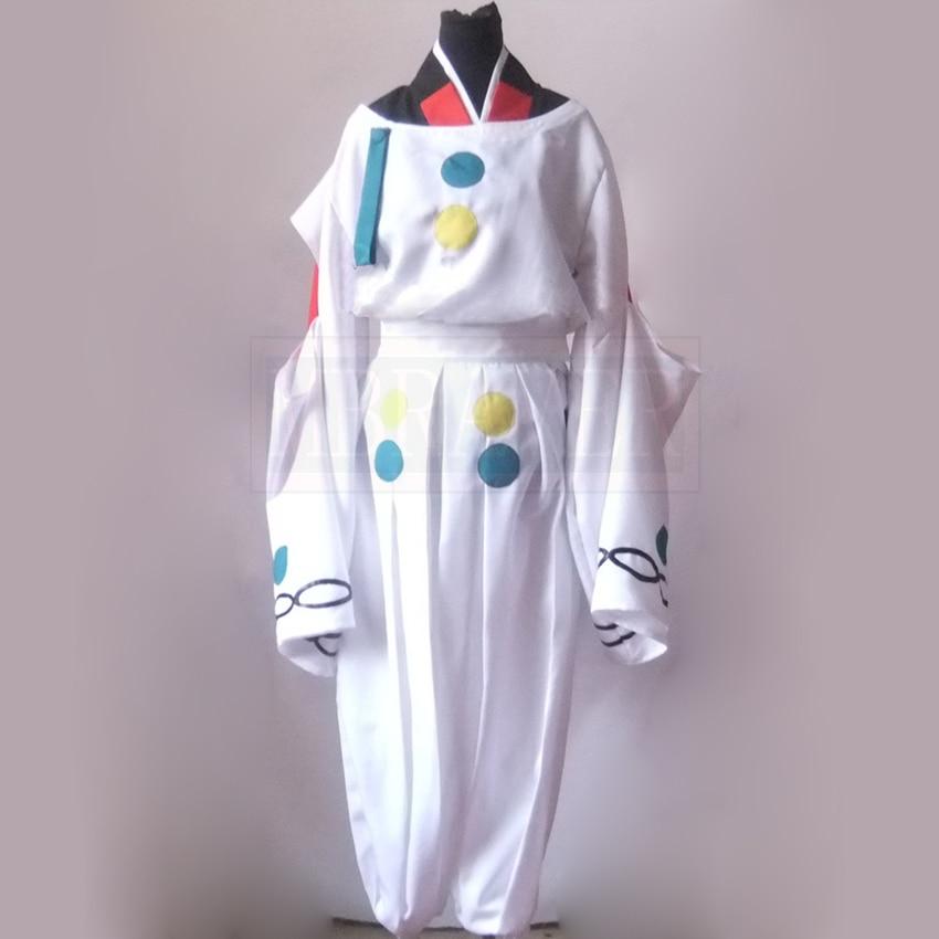 InuYasha HakuToshi Cosplay Costume Full Set Custom Made Any Size