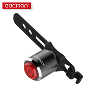 Gaciron MTB Road Bike Bicycle Tail Light Safety Warning Waterproof Rear Flashlight USB Rechargeable Built In