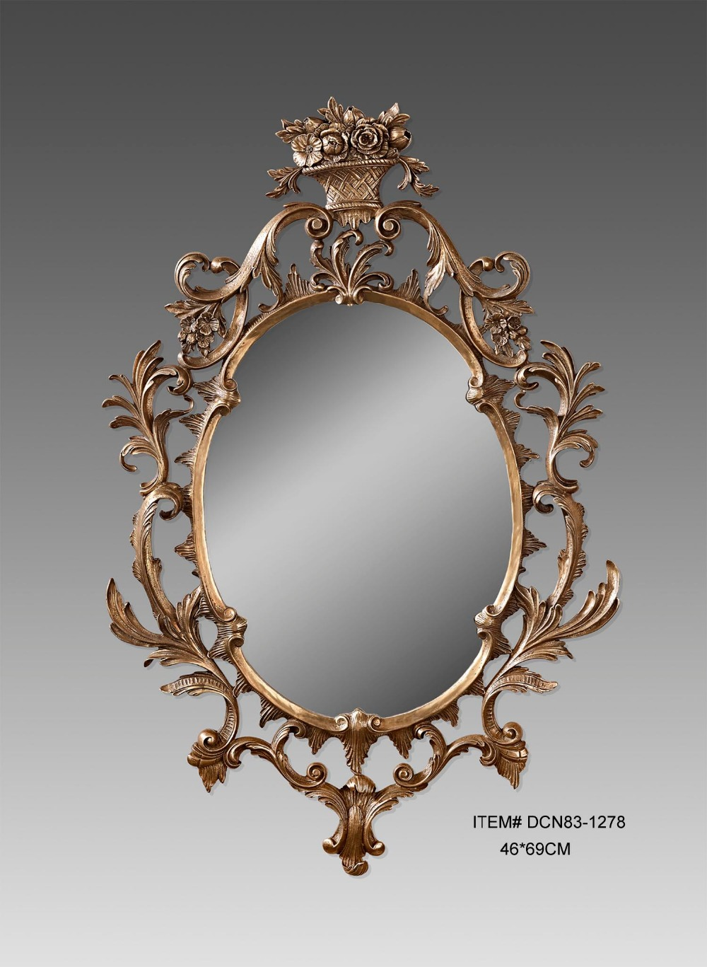 Online get cheap antique style mirror for Cheap antique style mirrors
