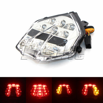 LED motorcycle taillight For Triumph Daytona 675 675R 2013 2014 2015 Diesel Chrome Brake Turn Signals Integrated
