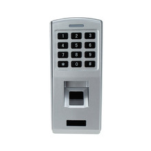Fingerprint door lock time attendance waterproof fingerprint scanner access control keypad reader for security door lock system