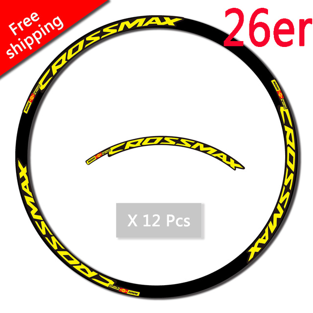 Color : 26 inch Yellow