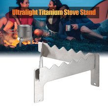 Outdoor Ultralight Folding Titanium Pot Stand for Camping Hiking Picnic Stove Alcohol Rack Accessory
