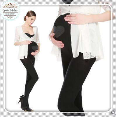 M&C Autumn And Winter 320d Pregnant Pantyhose Stockings Leggings Belly Care Of Pregnant Women Wholesale