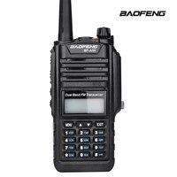 IP67 impermeabile dual band potente auricolare walkie talkie ham radio CB per la caccia UHF VHF radio baofeng