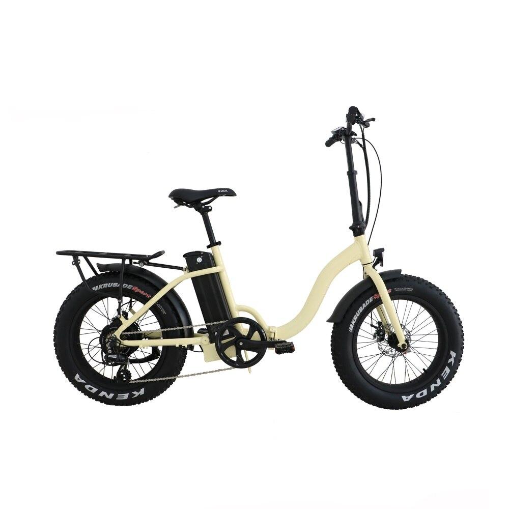 Livraison directe USA/CANADA LithiumBattery vélo électrique à pneu large 20