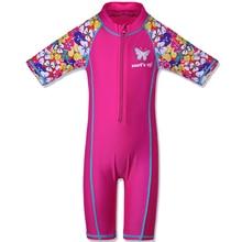 Kids Swimming Suit Girl UV50+ Beachwear Girls Children One Piece Swims