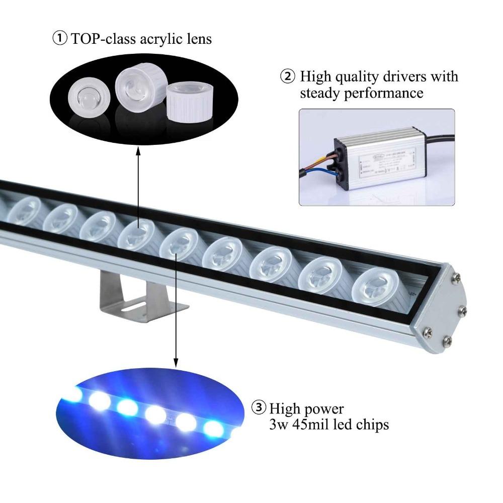 5 հատ / լոտ 108W IP65 Անջրանցիկ LED - Մասնագիտական լուսավորություն - Լուսանկար 4