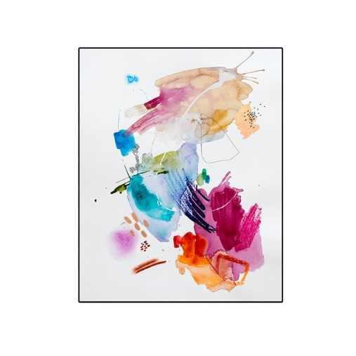 Красочное настенное украшение Холст Граффити живопись современные абстрактные картины принты Детские картины для гостиной украшения спальни
