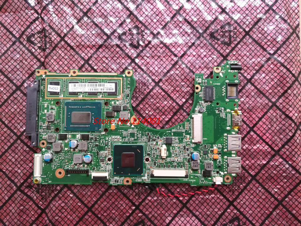 Replacement For asus x202e laptop motherboard X202E  REV:2.0 (motherboard with cpu I3 ) Professional Wholesale