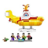 LEPIN 21012 Classic Movie Series Submarine Ship 553Pcs Legoing 21306 Toys For Children Creator Bricks Building Blocks LEPIN toy