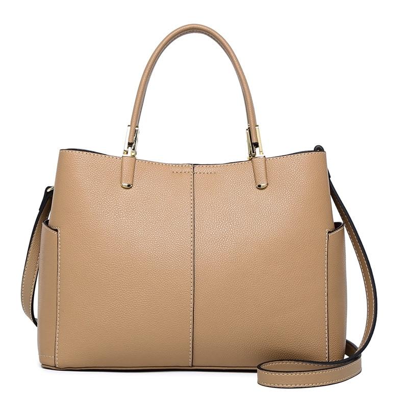 Genuine Leather Bag Women Leather Shoulder Bags Female Leather Handbags Shoulder Cross Body Bags Luxury Women Bags Designer luxury genuine leather shoulder