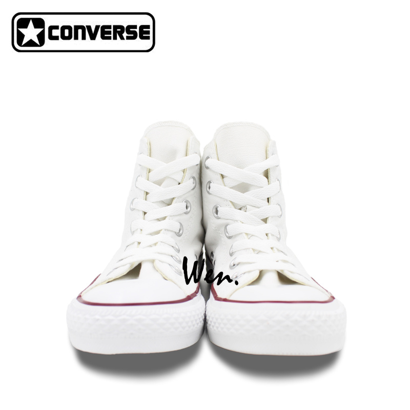 converse shoes for girls black and white. aliexpress.com : buy white converse all star women men shoes doraemon design hand painted boys girls sneakers skateboarding unique gifts from for black and h