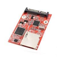 MMC SD SDHC SATA 6 35 Centimeter HDD Secure Digital Conversion Adapter
