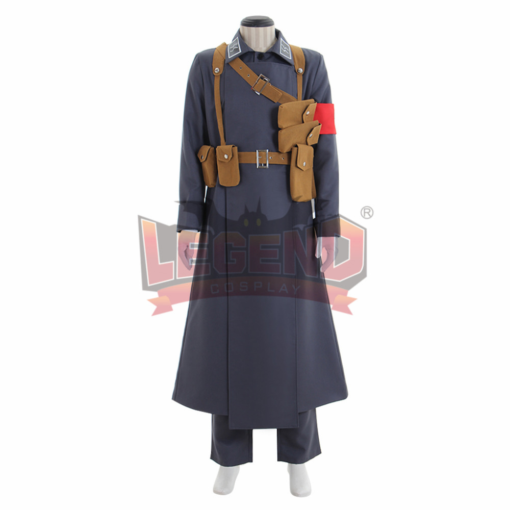 Hellsing Millenium Vampire Soldier Cosplay Costume adult costume all size custom made